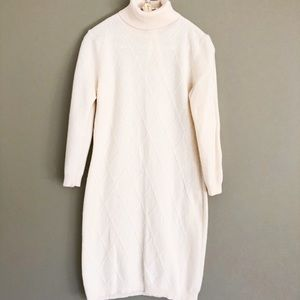 Women's Benetton wool sweater dress